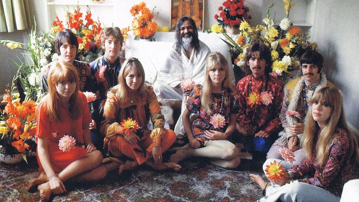 Maharishi és Beatles-TMeditacio